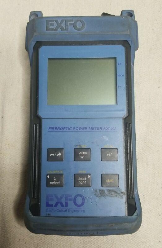 EXFO FOT-90A Fiber Optic Power Meter