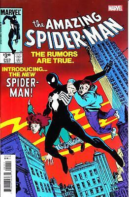 AMAZING SPIDER-MAN #252 FACSIMILE EDITION BLACK COSTUME VENOM LIKE THE ORIGINAL](The Amazing Spider Man Costumes)