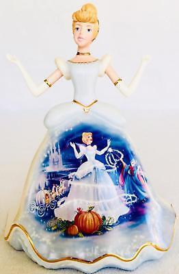 Bradford Exchange Heirloom Porcelain CINDERELLA Masterpiece Edition Figurine