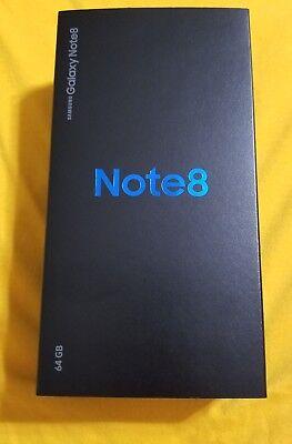 Samsung Galaxy Note 8 64 GB TMOBILE Midnight Black NIB In Hand