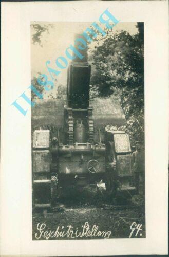 WW1 German Pre 1890 Siege Artillery  7 x 5 inches