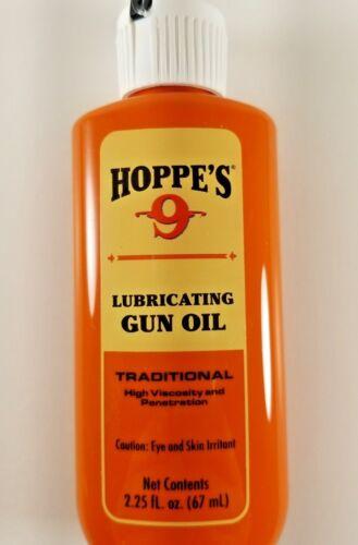 Hoppes 2.25oz Lubricating Oil Lubricant  Gun Firearm Cleaning  Hoppe