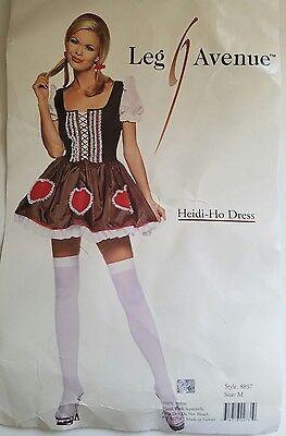 Leg Avenue Womens Heidi Ho Dress Halloween Costume Size M Dress and Crinoline](Heidi Ho Costume)