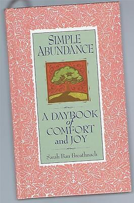 Usado, Simple Abundance Daybook Of Comfort And Joy 1995 S. Breathnach HC segunda mano  Embacar hacia Argentina