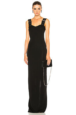 GIVENCHY New buckled Jersey maxi dress $2545, sz 44 FR, L US