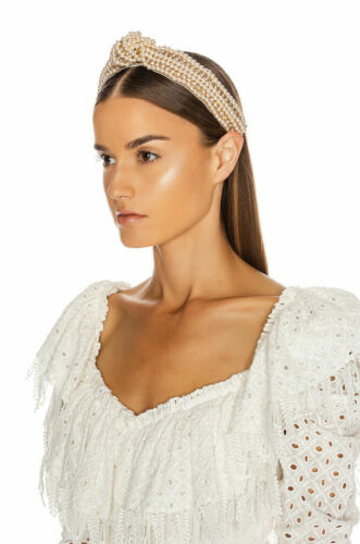 Jennifer Behr Sirene Pearl & Crystal Headband