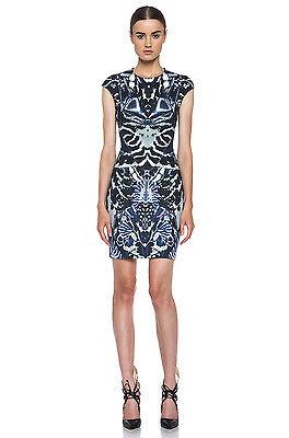 McQ Alexander McQueen Beetle Mirrored Print Dress $555