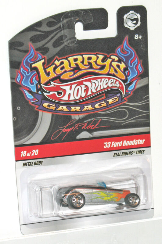 Hot Wheels Larry's Garage '33 Ford Roadster - CHASE - 1:64