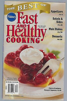 Pillsbury Best Of Fast And Healthy Cooking November/December 1999