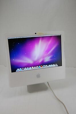 "Apple iMac A1208 17"" Core 2 Duo 2.0GHz 2GB DDR2 RAM 160GB HD OSX Snow Leopard"