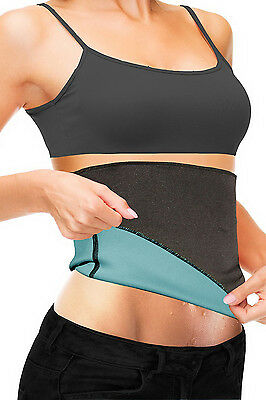 Beautyko Thermo-slim Detox Wrap, Black And Aqua Blue LARGE