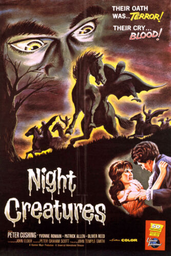 NIGHT CREATURES-1962-ENG 16MM PRINT COLOR