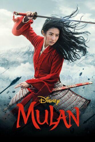 Mulan 2020 New Movie DVD (Live Action)