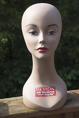 Mannequin Head Female Hispanic Or Caucasian 16 Used