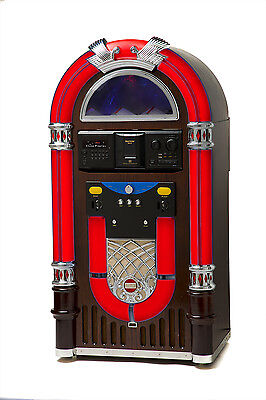 CLASSIC JUKEBOX *AMERICA'S LAST GREAT HOME JUKEBOX*  300 CD & BLUTEOOTH 4.0 NEW