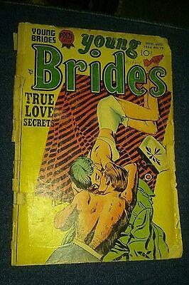 ROMANCE FOR SALE! YOUNG BRIDES NO 19 (1954) A gd 2.0 COPY Prize group golden age
