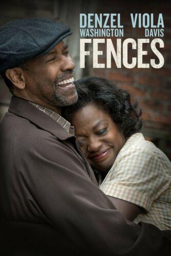 """FENCES"" DENZEL WASHINGTON & VIOLA DAVIS-ACADEMY AWARDS MOVIE OSCAR PRESS BOOK """