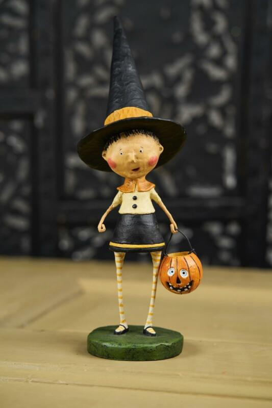 Lori Mitchell™ - Witchy Helen - Girl Witch w Pointy Hat - Halloween - 11098