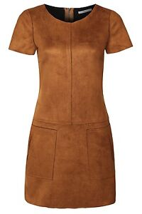BNWT Faux-Suede DEX Dress