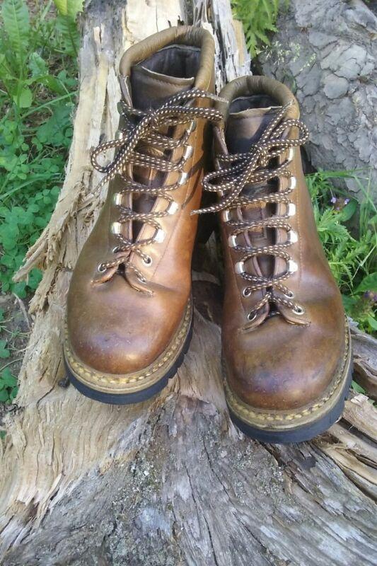 Vintage Fabiano Hiking Boots 9.5 N Narrow aprox Men 8 - 8.5 Women 9.5 - 10 Italy