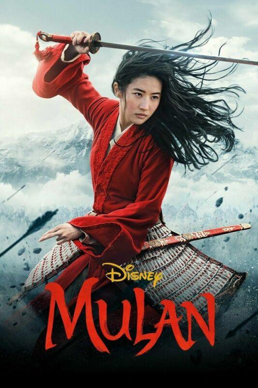 Mulan 2020 New Movie DVD