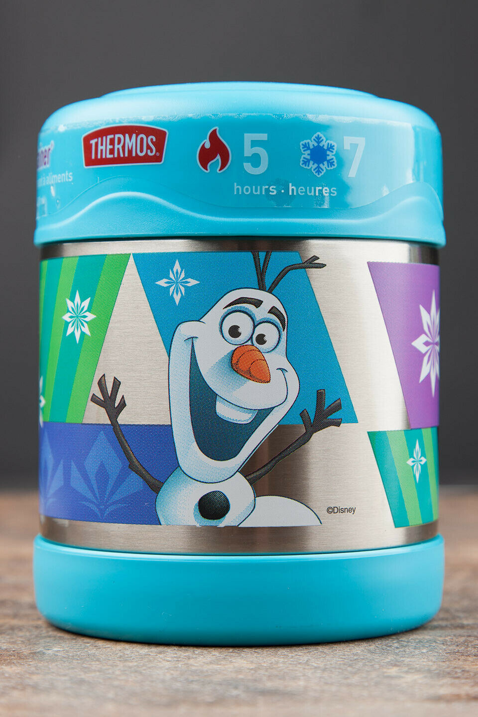 Disney Frozen Hot/Cold Thermos FUNtainer Food Jar - Elsa, An