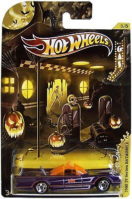 Hot Wheels 2012 Halloween  Kroger  3 5 1966 Tv Series Batmobile Batman  6 1 64