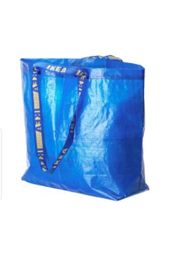 IKEA FRAKTA MEDIUM BLUE BAG 10 GALLON