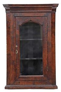Antique Wall Display Cabinets