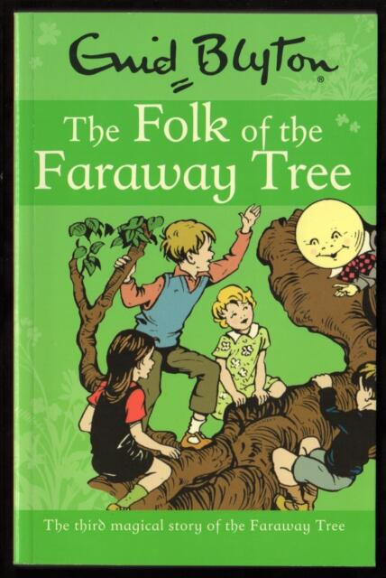 THE FOLK of the FARAWAY TREE by ENID BLYTON - NEW PAPERBACK