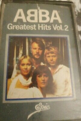 ABBA, Greatest Hits Volume 2 compilation Cassette Tape 1979