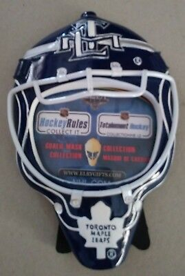 NHL Toronto Maple Leafs Goalie Mask Picture Frame by Elby