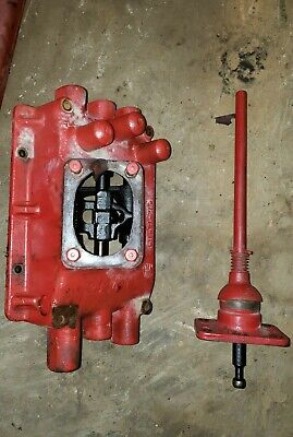 Mccormick Farmall F20 Tractor Transmission Cover Lever Gear Shift Shifter Tower