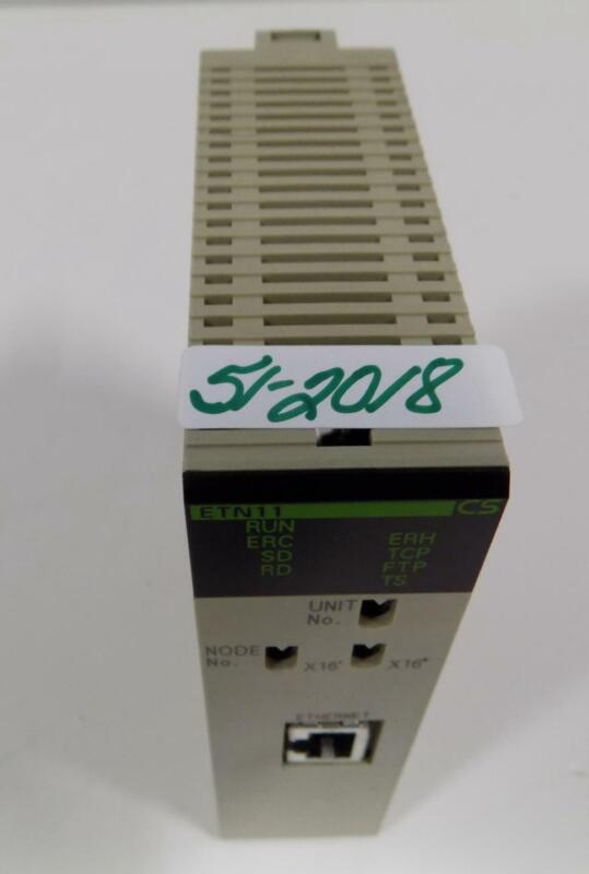 OMRON ETHERNET COMMUNICATIONS MODULE CS1W-ETN11