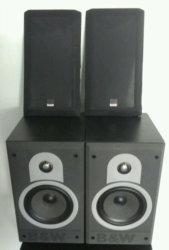 Bowers & Wilkins DM550 Bookshelf Speaker Pair Tested w/ Amazing Sound Audiophile