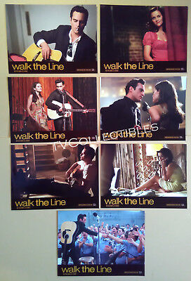 Lobby Card Set~ WALK THE LINE ~2005 ~Joaquin Phoenix ~Reese Witherspoon