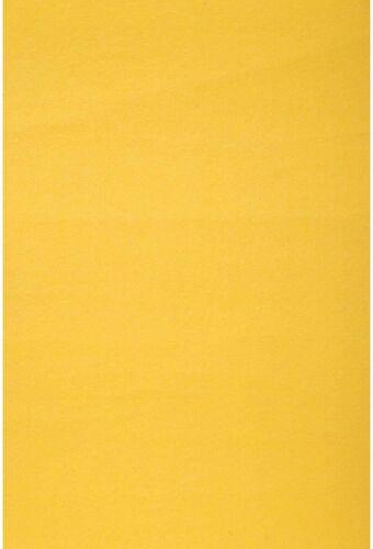 """Darice  Yellow Stiffened Felt Sheet 12"""" x 18"""""""