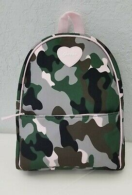 Guess Girl Mini Backpack Pink Multi Camo DX K18 044 Multi Mini Backpack