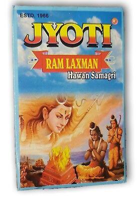 Ram Laxman (Jyoti Ram Laxman Havan Samagri Powder for Havan Pooja, Yagna Marriage 200Gms)