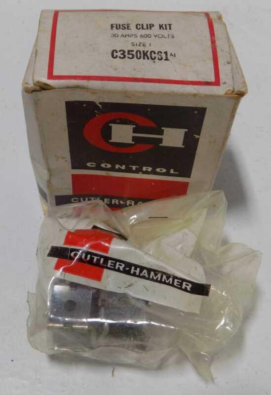 CUTLER HAMMER FUSE CLIP KIT 30 AMPS C350KCS1