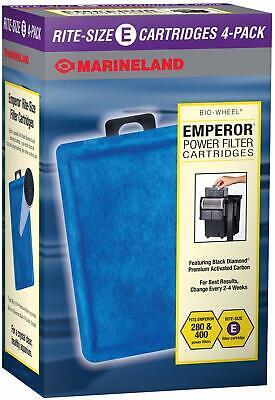 Marineland Rite-Size E Filter Cartridge Refills Fits Emperor 280 400 Filters Marineland Emperor Filter Cartridge