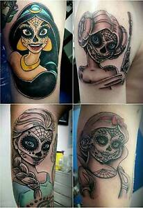Professional tattooing at a great rate. Free consultations. Bonbeach Kingston Area Preview