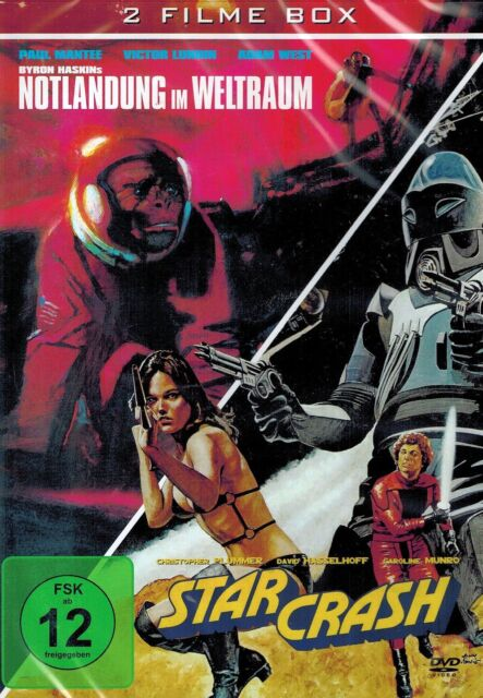 DVD NEU/OVP - Notlandung im Weltraum / Star Crash - 2 Filme Box