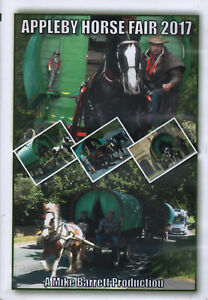 APPLEBY HORSE FAIR 2017 DVD - Romany, Gypsy, Travellers