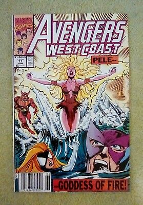 Avengers West Coast #71 (Jun 1991, Marvel) 8.0 VF