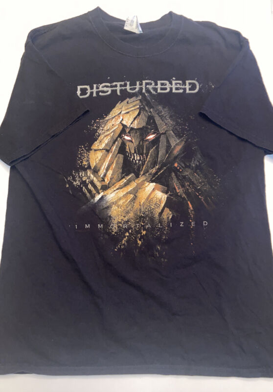Disturbed Immortalized Tour Tshirt 2016 Large