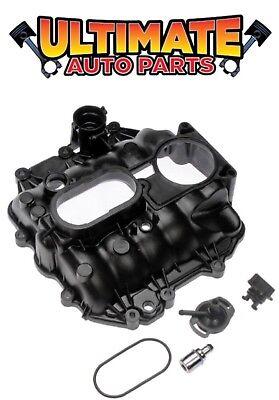 Sierra Intake Manifold Gasket - Upper Intake Manifold w/Gaskets (4.3L, V6) for 99-06 GMC Sierra 1500