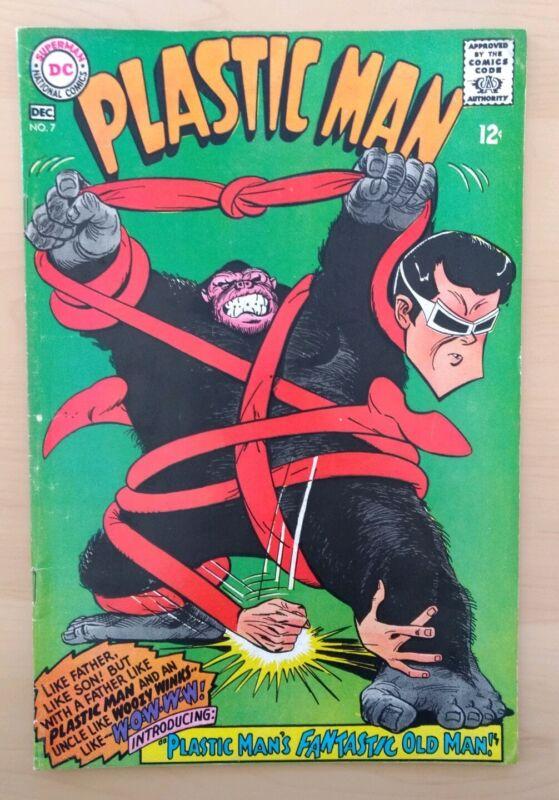 Plastic Man #7 DC Comics 1966. Fine