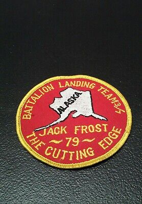 1979 Battalion Landing Team 3/7 Jack Frost Cutting Edge Patch Alaska for sale  Elkhart