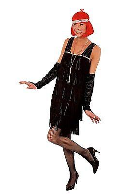 - Schwarze 20er Jahre Kleid